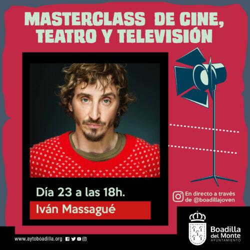BOADILLA - MASTERCLASS CINE TEATRO TV 900x900 ponentes