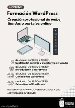 A3 - Junio - Formación WordPress - Ayto. Boadilla